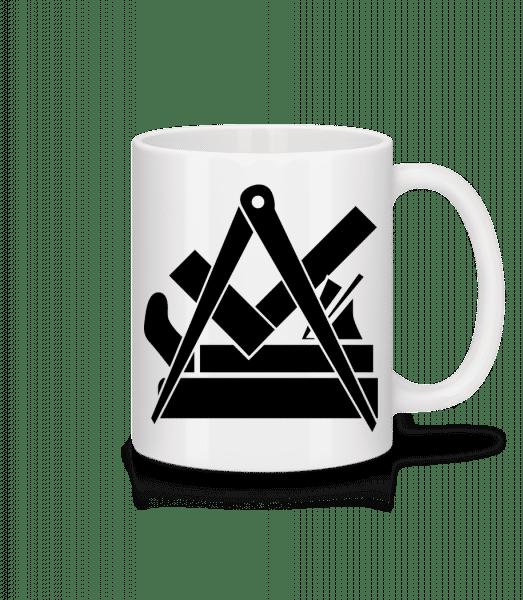 DIY Icon - Mug - White - Vorn