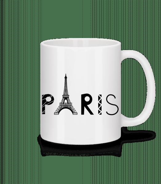 Paris France - Tasse - Weiß - Vorn