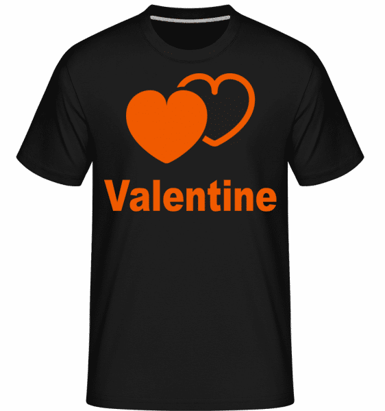 Valentine Heart -  Shirtinator Men's T-Shirt - Black - Vorn