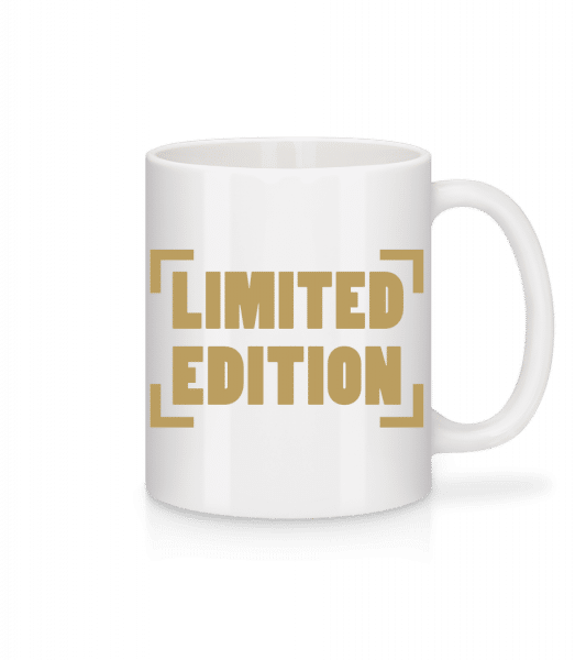 Limited Edition - Mug - White - Front
