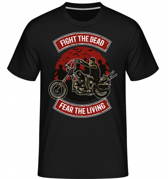 Fight The Dead -  Shirtinator Men's T-Shirt - Black - Front