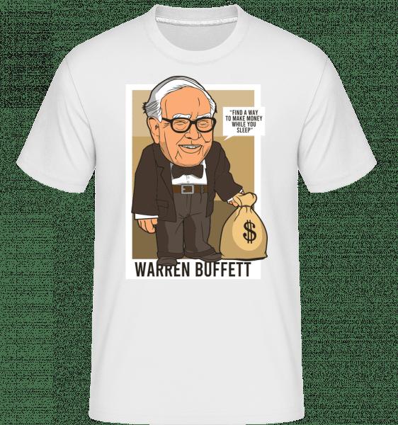 Warren Buffet Up Carl -  Shirtinator Men's T-Shirt - White - Front