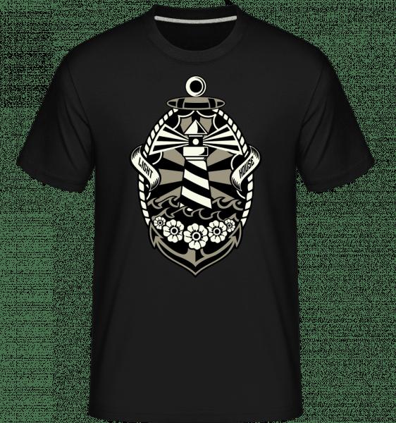 Lighthouse -  Shirtinator Men's T-Shirt - Black - Vorn