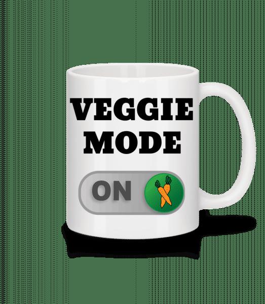 Veggie Mode On - Carrots - Mug - White - Front
