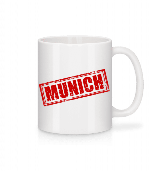 Munich Logo - Mug - White - Vorn