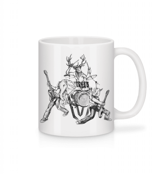 Wild Band - Mug - White - Vorn