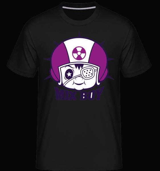 Mix Boy -  Shirtinator Men's T-Shirt - Black - Vorn