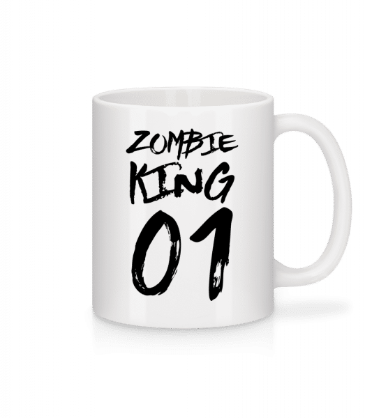 Zombie King - Mug - White - Vorn