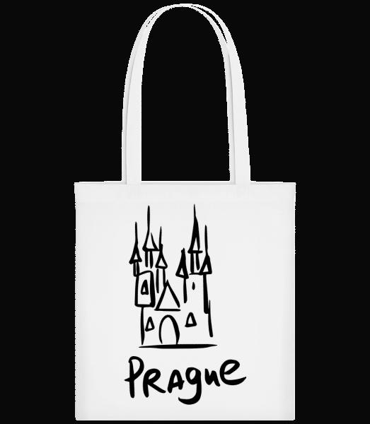 Prague s´Sign - Carrier Bag - White - Vorn