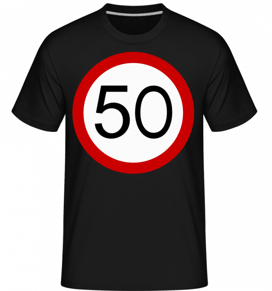 50 Symbol -  Shirtinator Men's T-Shirt - Black - Vorn