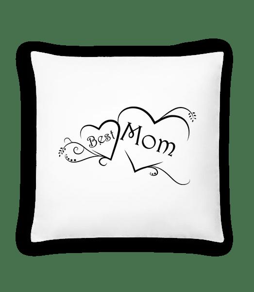 Best Mom - Cushion - White - Vorn