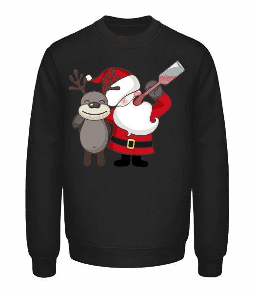 Fête De Noël - Sweatshirt Unisexe - Noir - Vorn