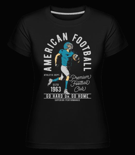 American Football -  Shirtinator Women's T-Shirt - Black - Vorn