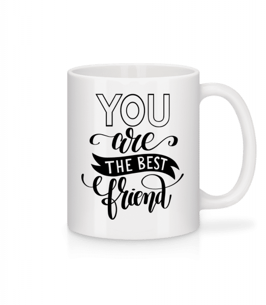 You Are The Best Friend - Mug - White - Vorn