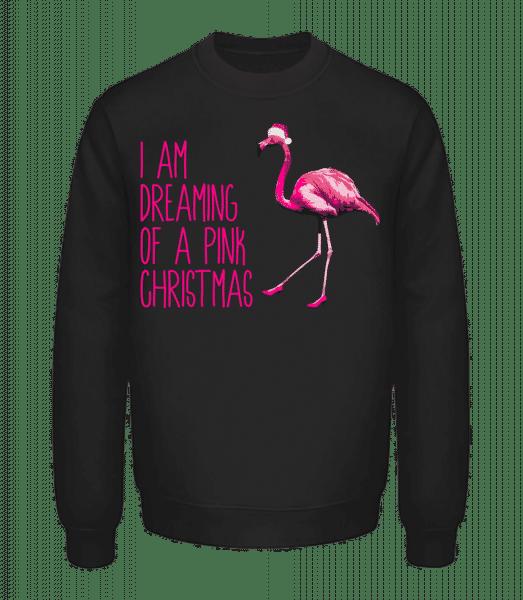 Pink Christmas - Unisex Sweatshirt - Black - Vorn