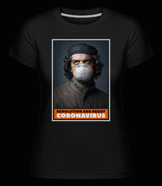 Revolution And Resist -  Shirtinator Women's T-Shirt - Black - Vorn