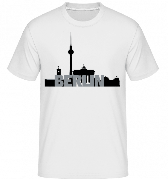 Berlin Germany -  Shirtinator Men's T-Shirt - White - Vorn