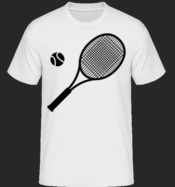 Tennis Comic -  Shirtinator Men's T-Shirt - White - Vorn