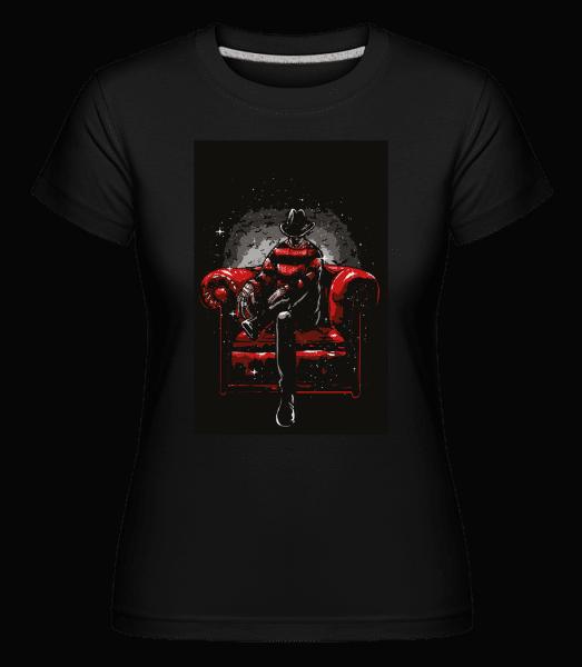 Nightmare Side -  Shirtinator Women's T-Shirt - Black - Vorn