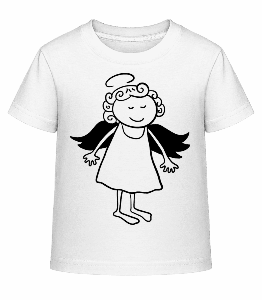 Christmas Angel - Kid's Shirtinator T-Shirt - White - Vorn