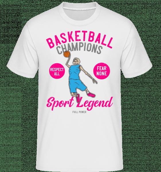 Basketball Champions -  Shirtinator Men's T-Shirt - White - Front
