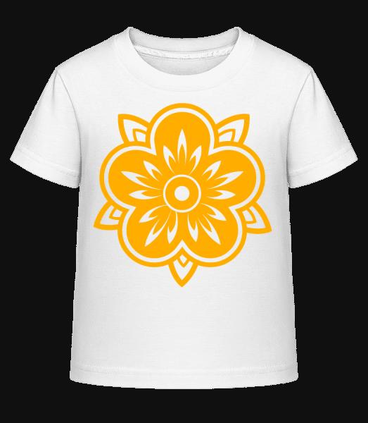 Easter Symbol - Kid's Shirtinator T-Shirt - White - Vorn