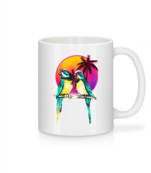 Birds Of Paradise - Mug - White - Vorn