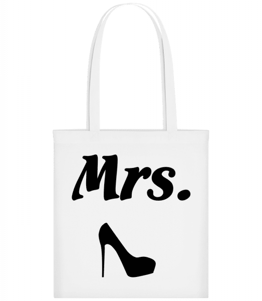 Mrs. Wedding - Carrier Bag - White - Vorn