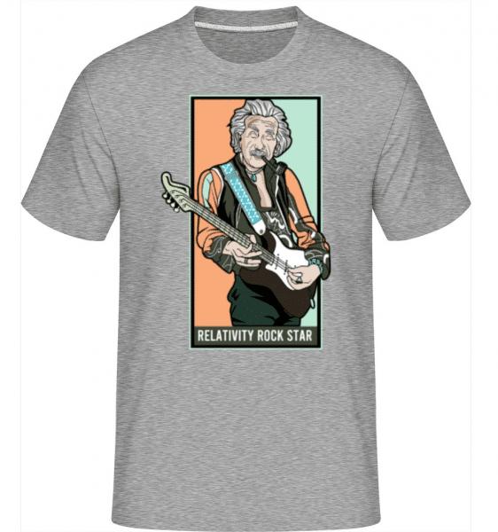 Jimmy Einstein -  Shirtinator Men's T-Shirt - Heather grey - Front