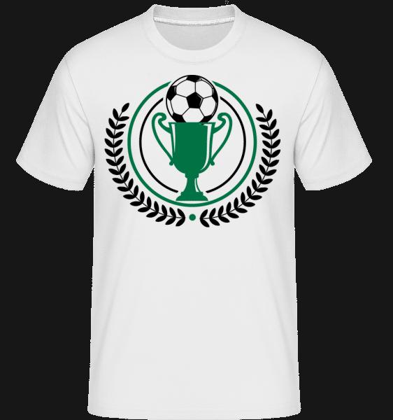 Football Laurel Wreath -  Shirtinator Men's T-Shirt - White - Vorn
