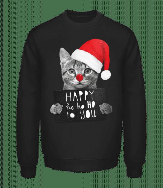 Happy Ho Ho Ho To You - Unisex Sweatshirt - Black - Vorn