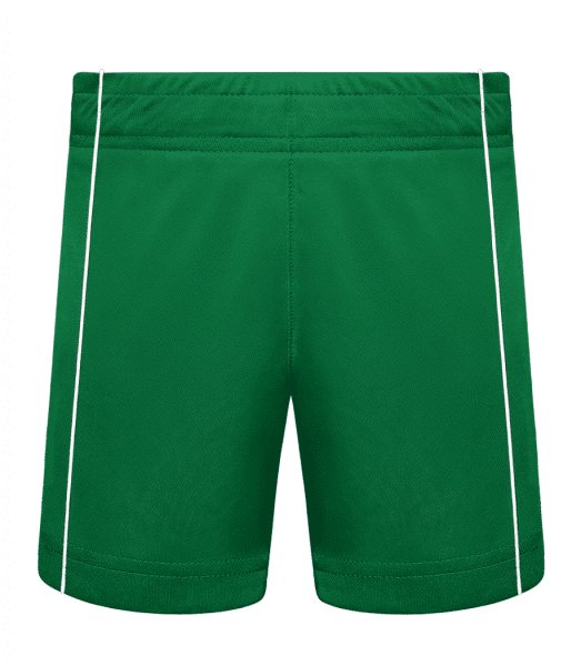 Kid's Sport Shorts - Kelly green - Front