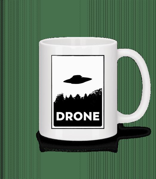 Drohne UFO - Mug - White - Vorn