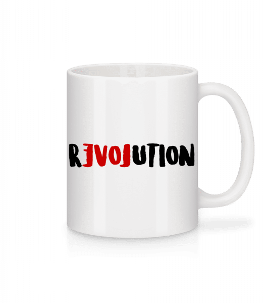 Revolution - Mug - White - Vorn