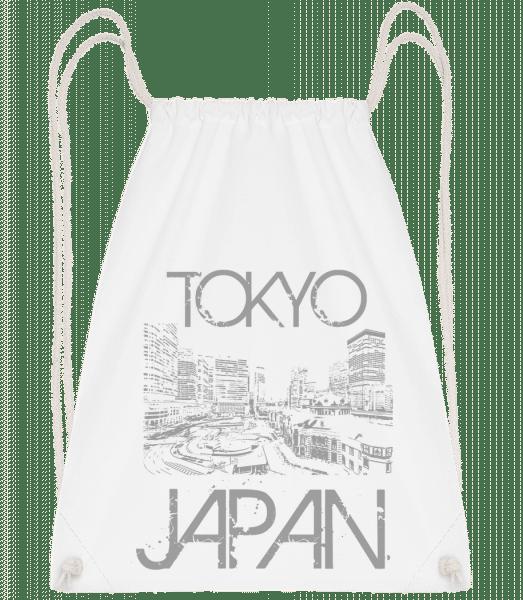 Tokyo Japan - Sac à dos Drawstring - Blanc - Vorn