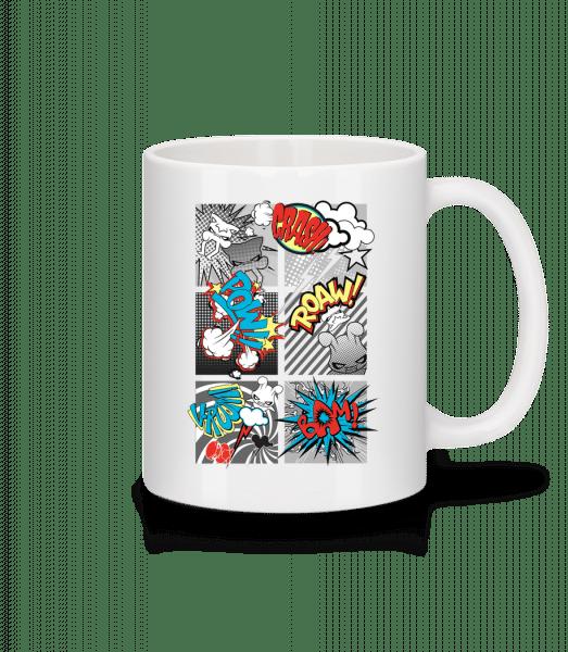 Cartoon Goblins - Mug - White - Vorn