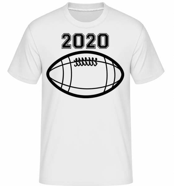 Football 2020 -  Shirtinator Men's T-Shirt - White - Front