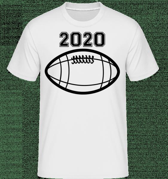 Football 2020 -  Shirtinator Men's T-Shirt - White - Vorn