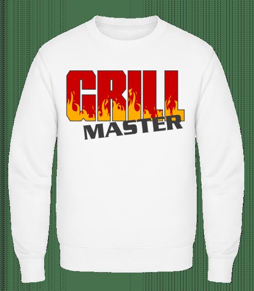 Grill Master - Classic Set-In Sweatshirt - White - Vorn