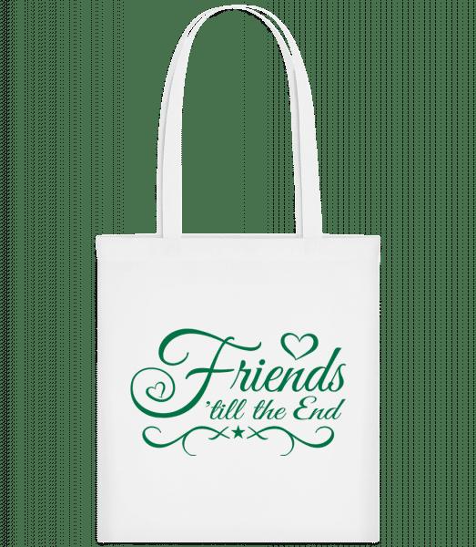 Friends 'Till The End - Carrier Bag - White - Vorn