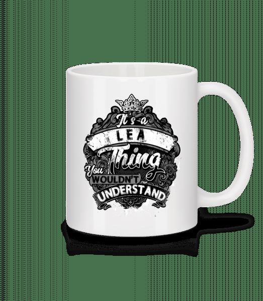 It's A Lea Thing - Mug - White - Vorn