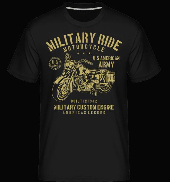 Military Ride -  Shirtinator Men's T-Shirt - Black - Vorn