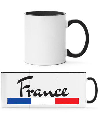 Football France - Two-toned Mug - White - Front