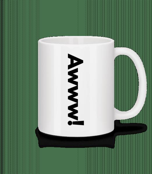 Awww! - Mug - White - Vorn