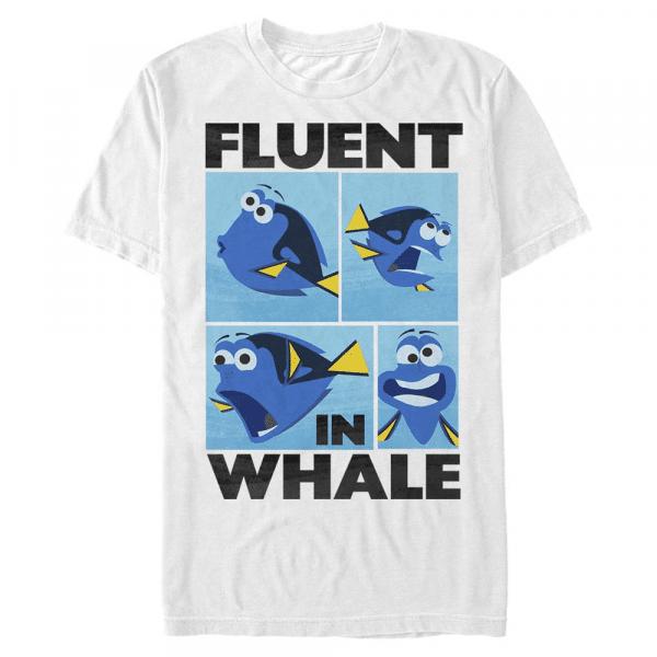 Whale Talk - Pixar Finding Dory - Men's T-Shirt - White - Front