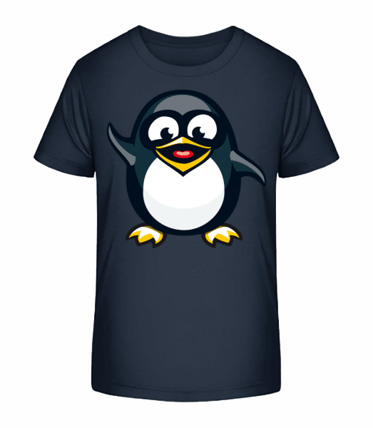 Penguin Kids - Kid's Premium Bio T-Shirt - Navy - Vorn