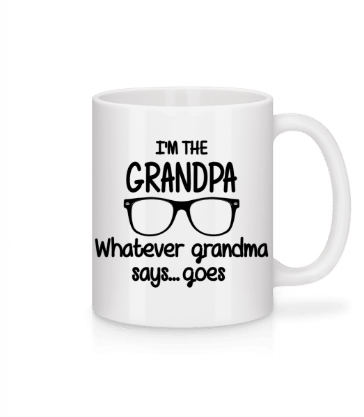 I'm The Grandpa - Mug - White - Vorn