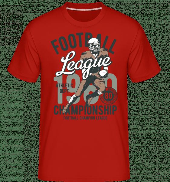 Athletic Dept -  Shirtinator Men's T-Shirt - Red - Vorn