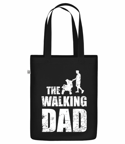 The Walking Dad - Bio Tasche - Schwarz - Vorn