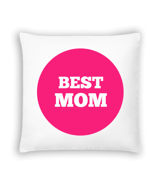 Best Mom - Cushion - White - Vorn